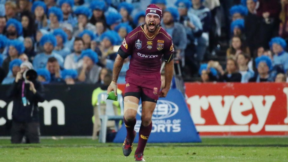 Queensland's Johnathan Thurston out for the season