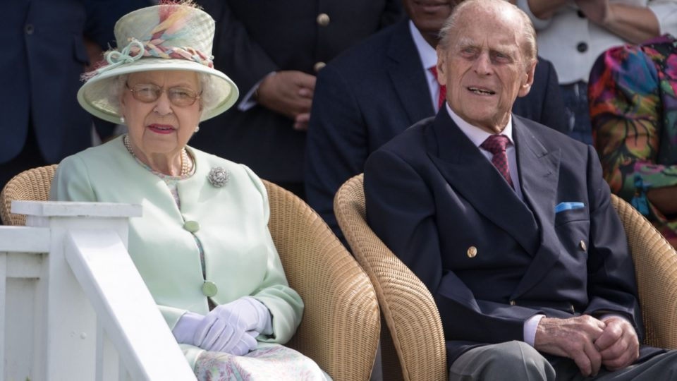 The Queen and Prince Charles' unusual moment of affection