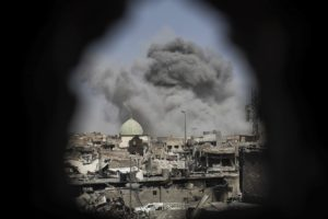 mosul iraq is caliphate end