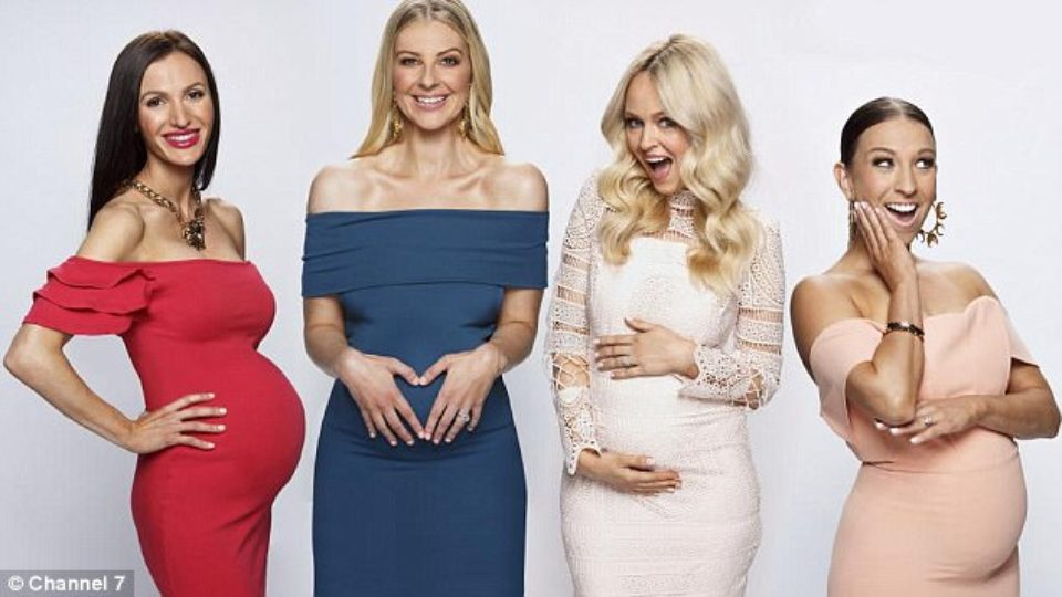 Channel Seven's upcoming reality television show Yummy Mummies will follow the lives of wealthy women Lorinska Merrington, Rachel Watts, Jane Scandizzo and Maria Di­Geronimo through their pregnancies