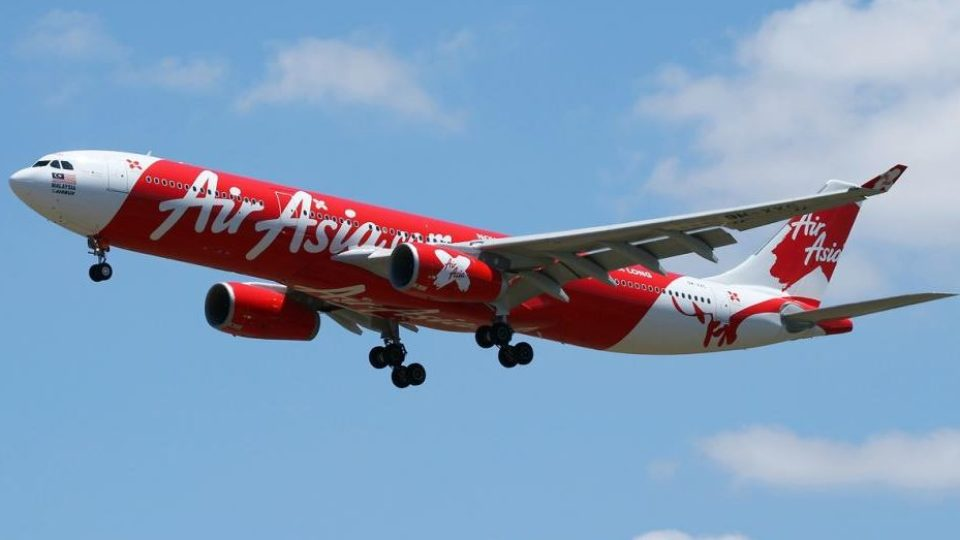An AirAsiaX Airbus 330 like the one forced to abandon a flight to Kuala Lumpur after a turbine fan shattered