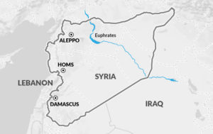Russia has warned aircrafts west of the Euphrates River will be targeted.