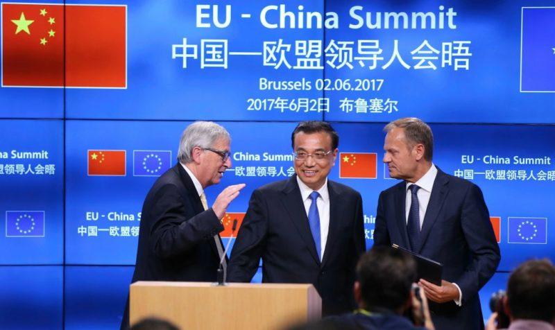 Eu China Summit in Brussels reaffirms Paris accord