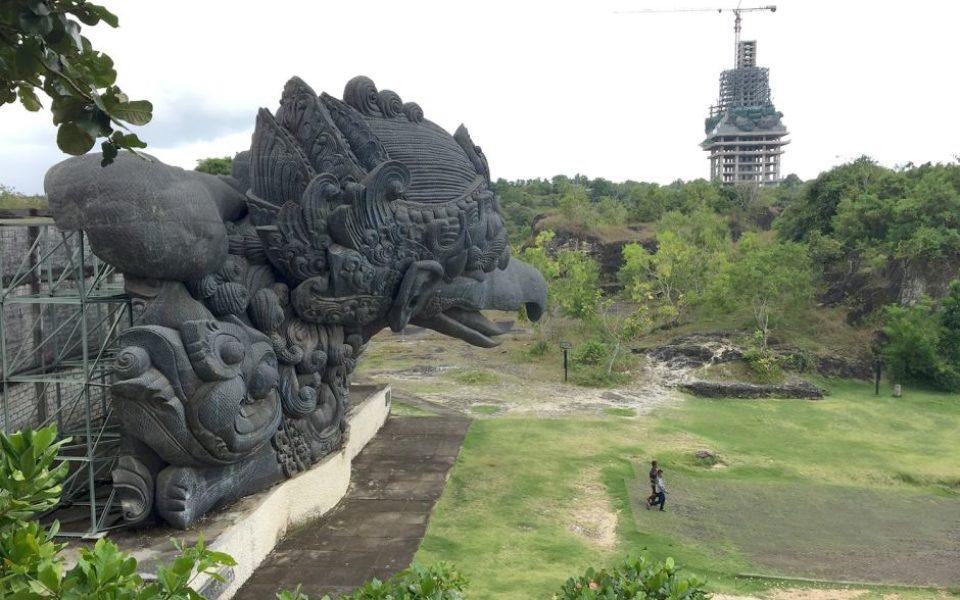 world u0026 39 s largest statue taking shape in bali