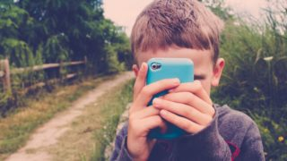 mobile phone child kid