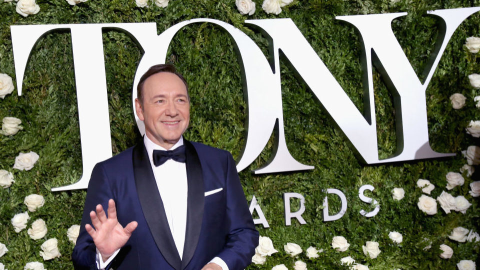 Kevin Spacey hosted the 71st Annual Tony Awards at Radio City Music Hall on Sunday.