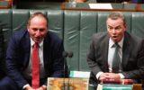 Barnaby Joyce and Christopher Pyne