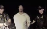 Tiger Woods arrest footage