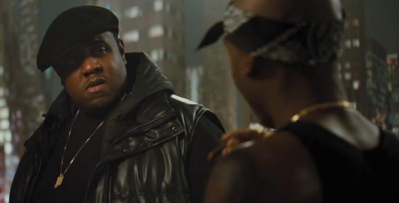 Biggie Smalls All Eyez on Me Tupac Shakur Jamal Woolard