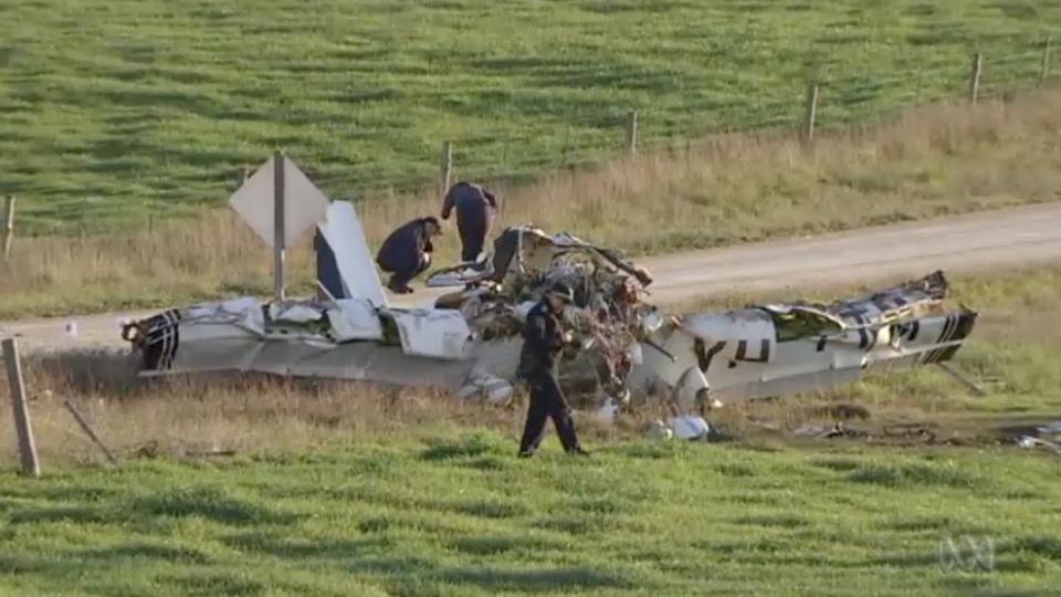 sa plane crash