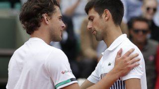 Thiem and Djokovic