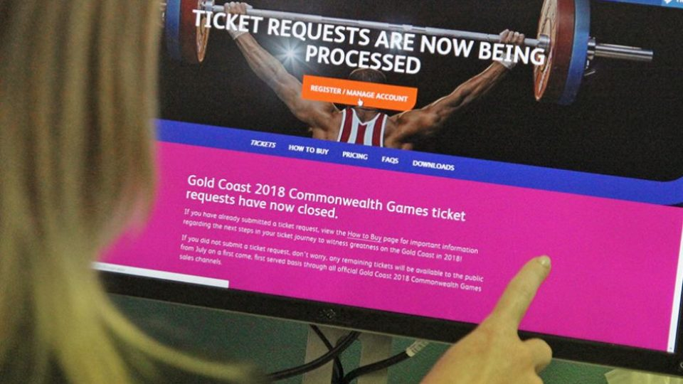Ticket requests closed for 2018 Gold Coast Commonwealth Games