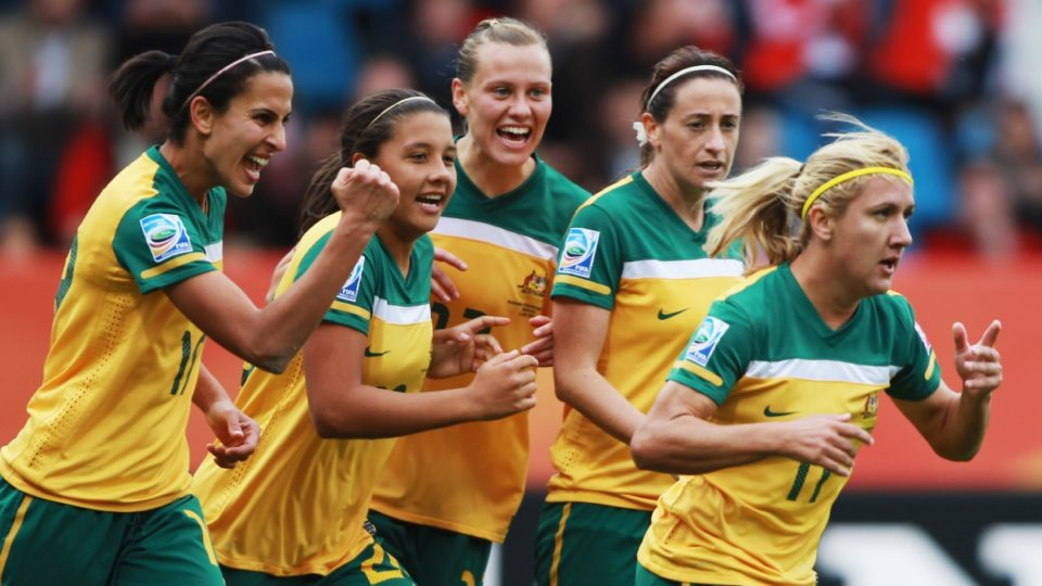 Australia women's world cup