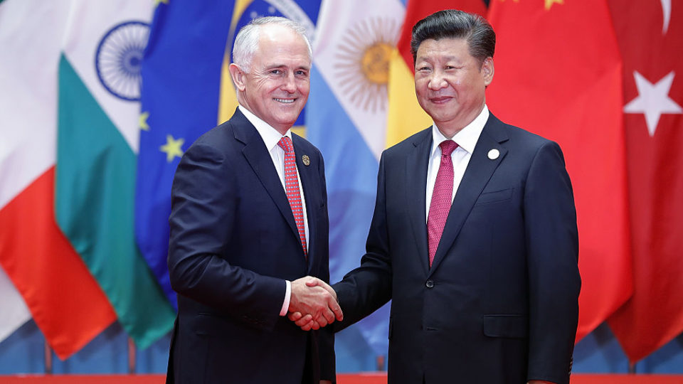 PM admits diplomatic tension with China