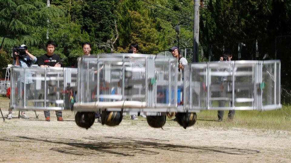 Toyota Working On Flying Car - Flying Start?