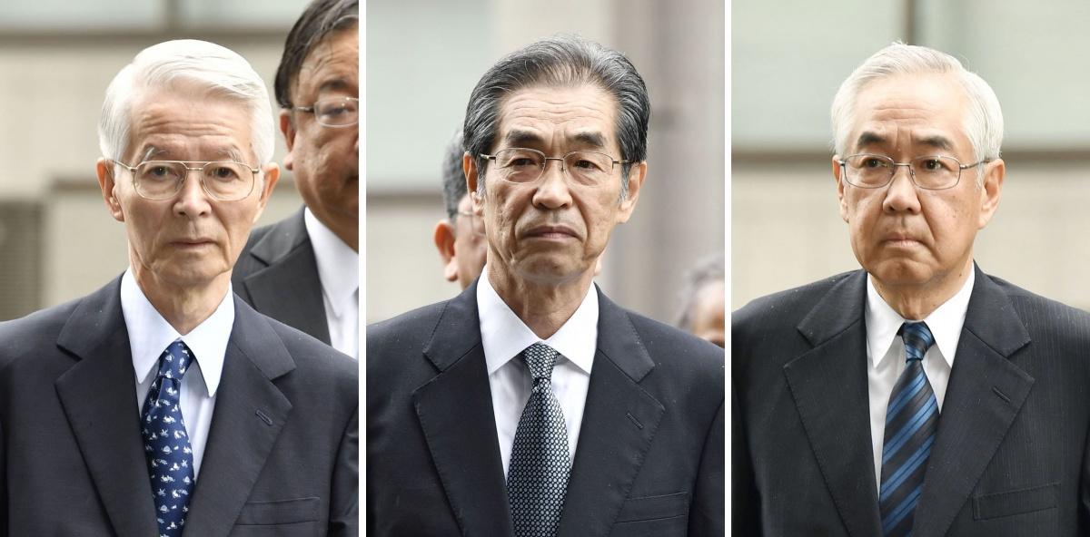 fukushima executives