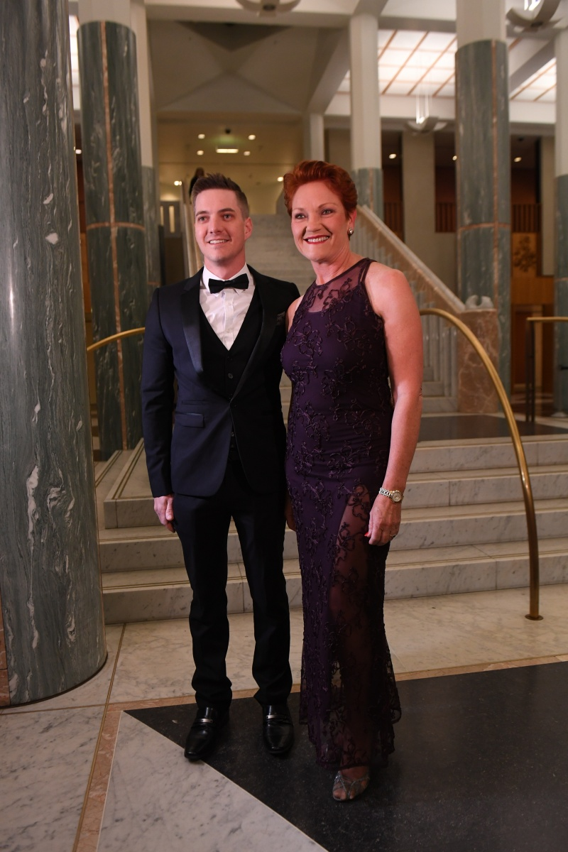Pollies Dress Up For Canberra S Mid Winter Ball
