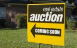 property auction sign