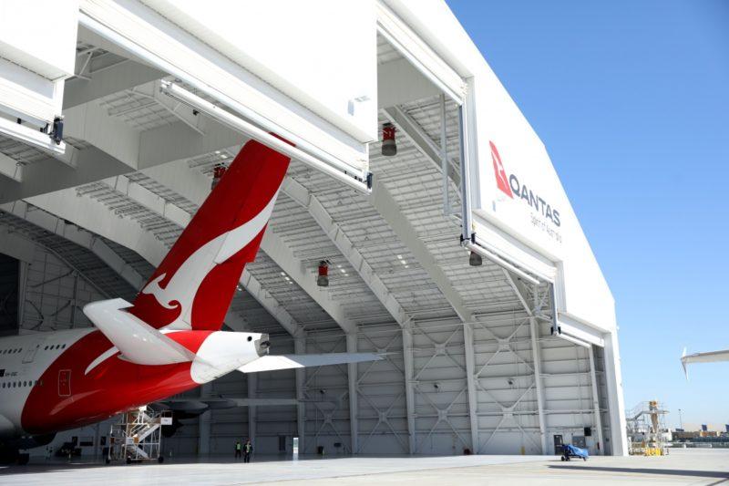 Qantas flight too heavy