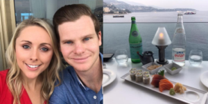 steve smith gets engaged to Dani Willis