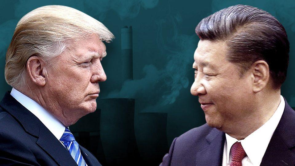 Donald Trump makes china claims
