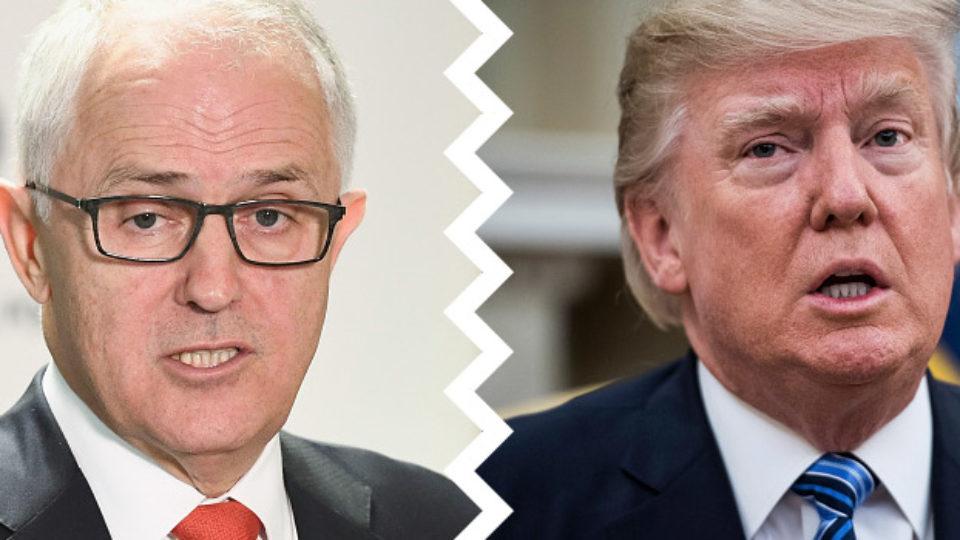 Malcolm Turnbull Donald Trump phone call