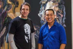 Actor Samuel Johnson has opened up about his tragic life in a touching episode of Anh Do's Brush With Fame on Wednesday night.