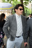 Mr Colosimo arrives at Magistrate's court to appear on driving charges in Melbourne, December 2014