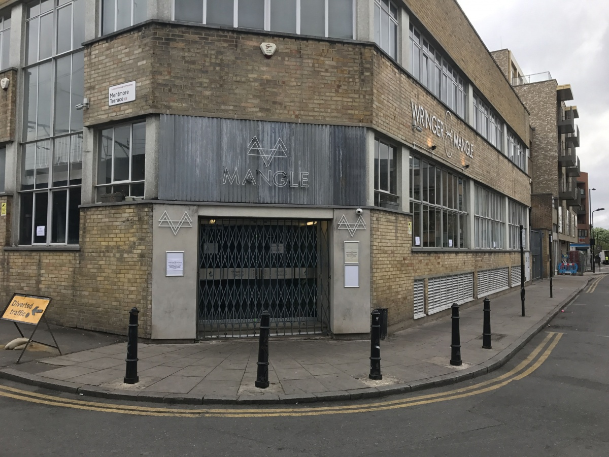 Mangle nightclub in Dalston, east London, where an acid attack occurred in April