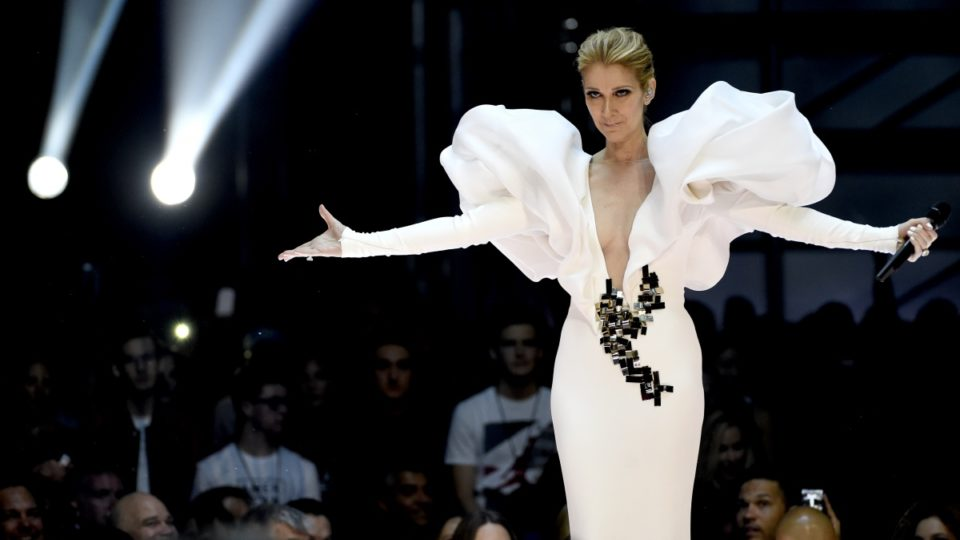 Celine Dion poses naked for Vogue at Paris Haute Couture