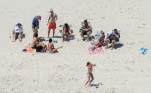 Chris Christie beach
