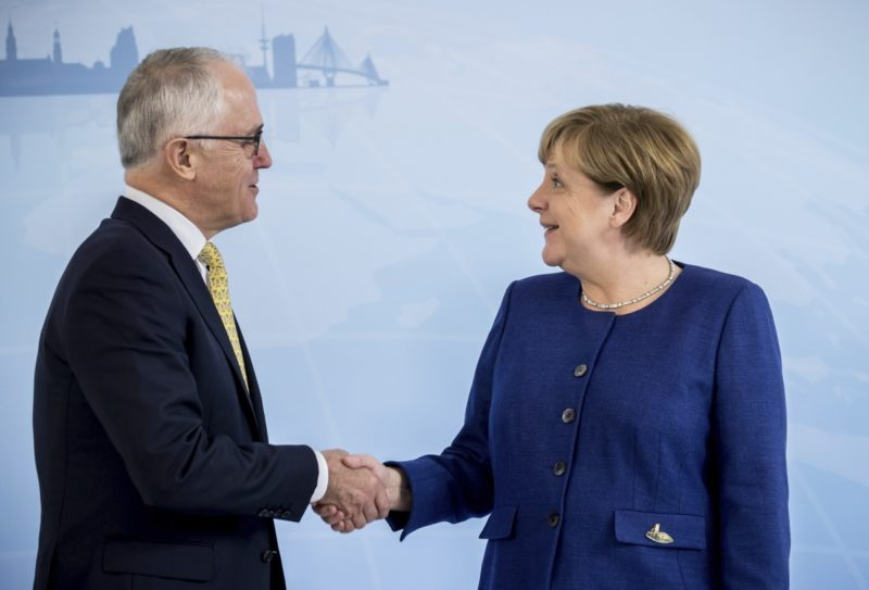 Merkel Turnbull