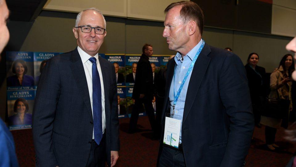 Malcolm Turnbull Tony Abbott