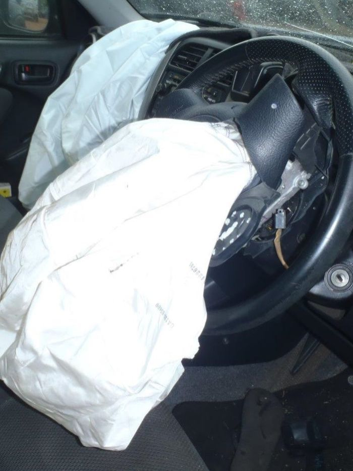 The Takata airbag believed to have injured a Darwin woman