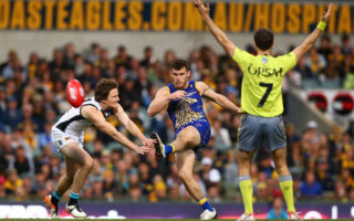 AFL Rd 16 - West Coast v Port Adelaide