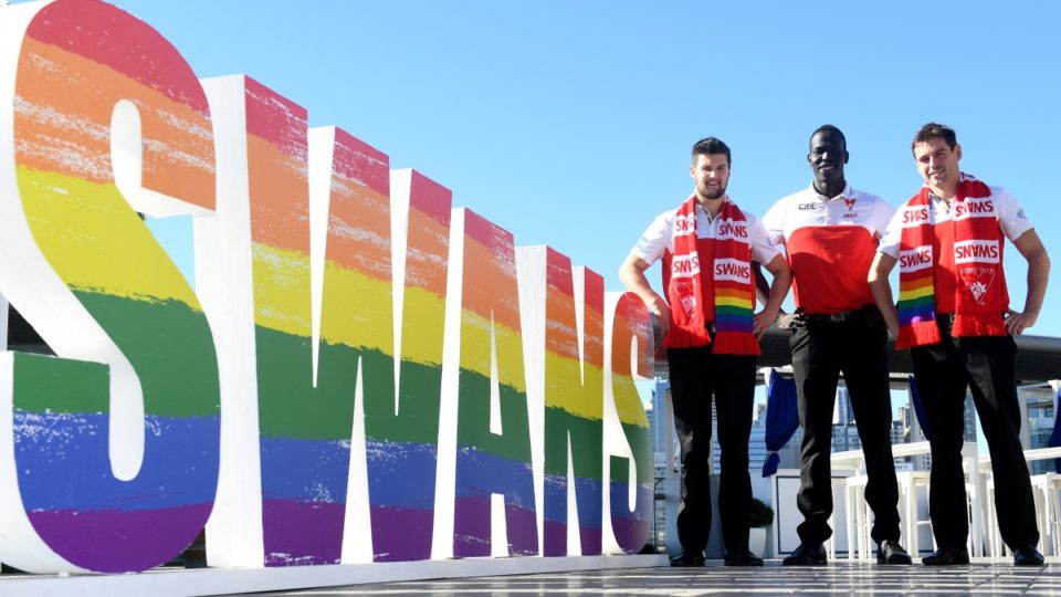 AFL pride match