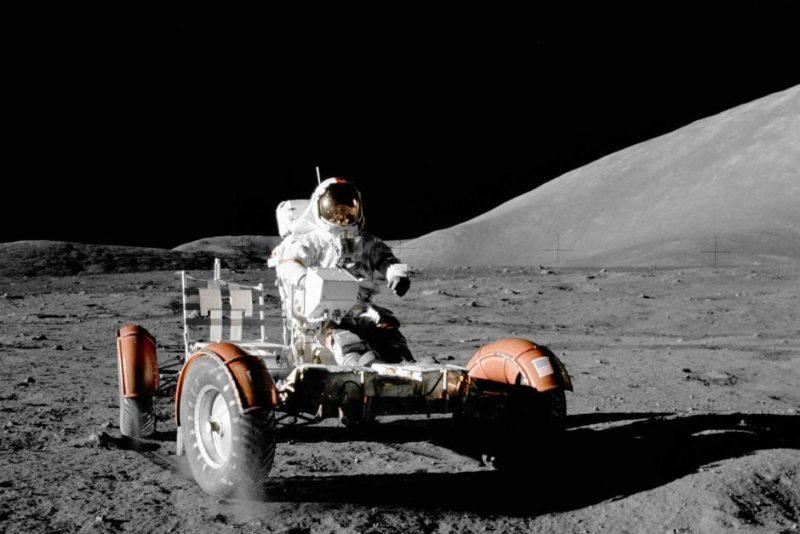 Apollo 17 rover