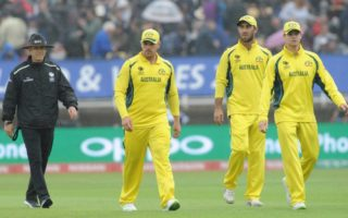 Australia trudges off the field in Champions Trophy