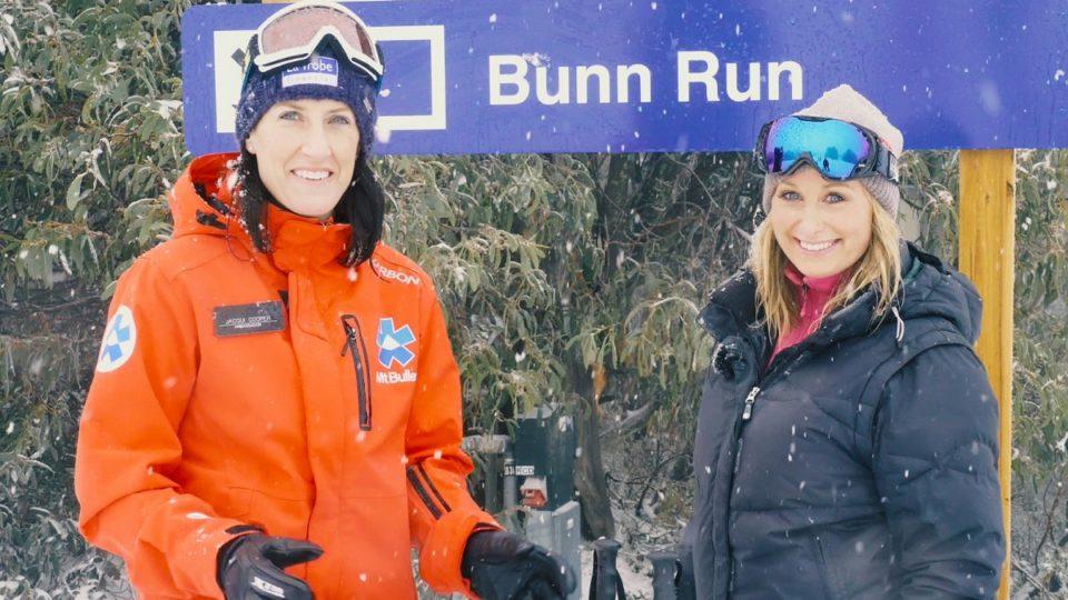Channel 7 weather presenter Jane Bunn