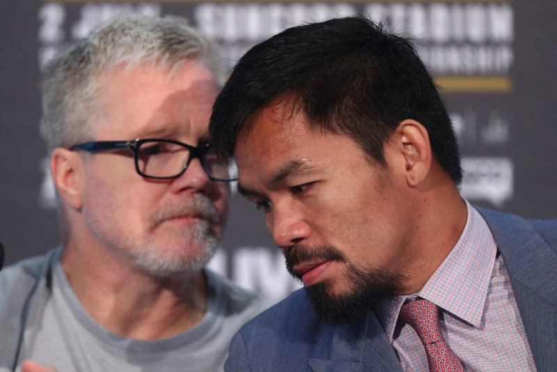 manny pacquiao refuses to accept Jeff Horn recount