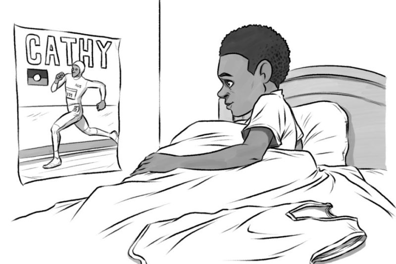 Game Day book cartoon