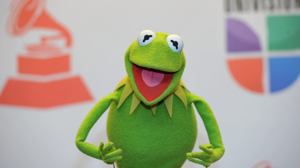 The Muppets' Kermit the Frog finds a new voice