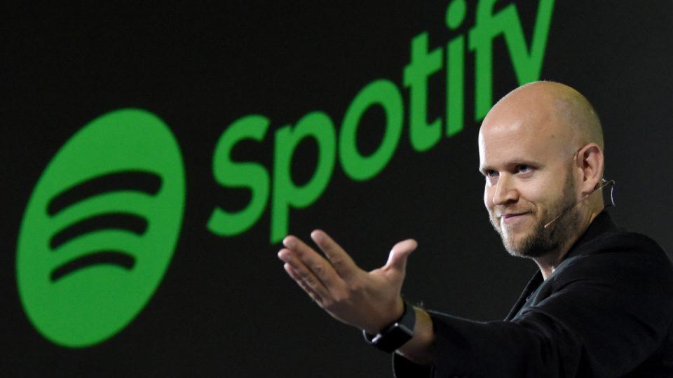 Spotify streaming music daniel ek ceo service app