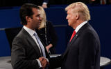 donald trump dictated the statement for his son