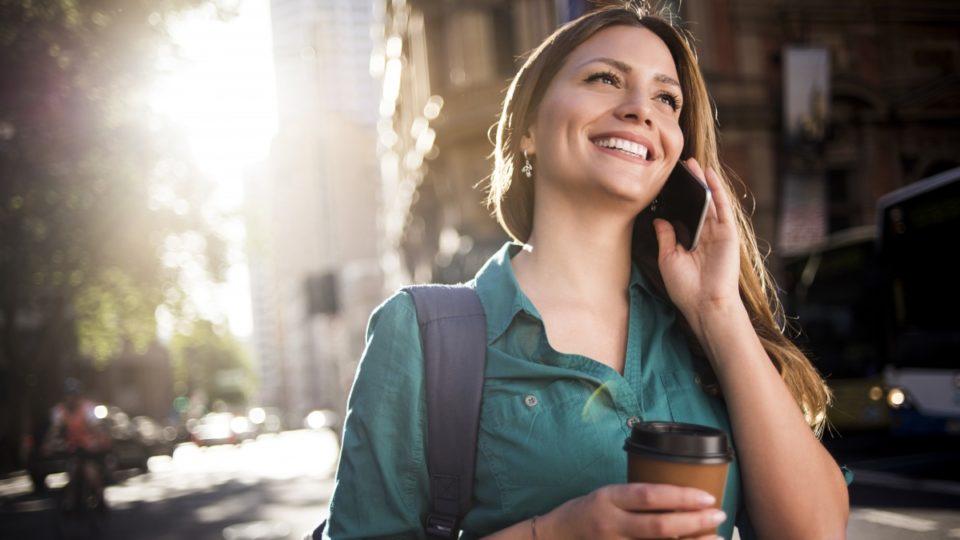 coffee phone sun