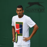 Nick Kyrgios has been criticised for partying in London after withdrawing from a Wimbledon match, citing a hip injury
