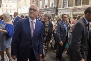 Malcolm Turnbull Borough Market visit