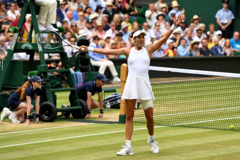 Garbine Muguruza Wimbledon final 2017