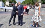 Donald Trump Emmanuel Macron Bastille Day