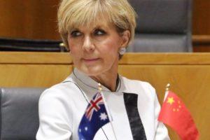 Julie Bishop North Korea